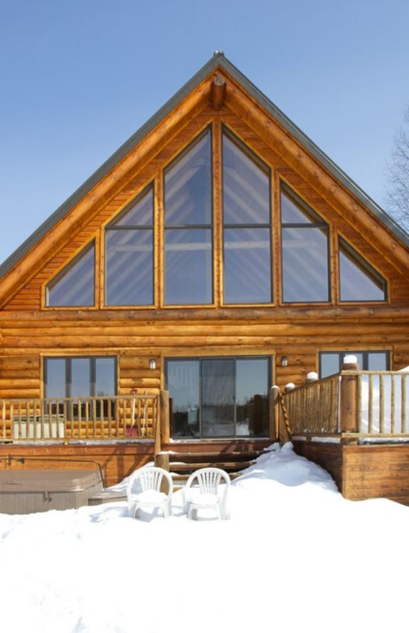 Carcajou - Le chalet en hivers - Chalet Carcajou