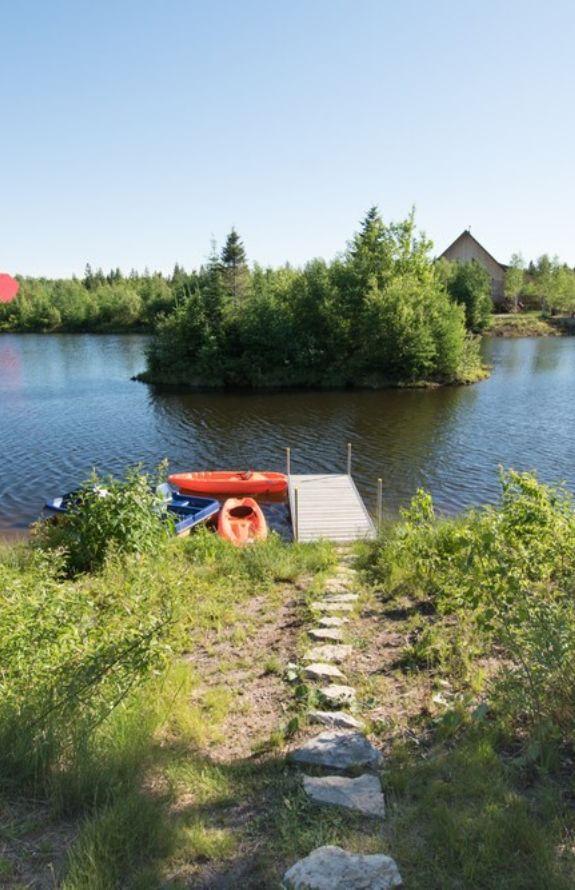 Carcajou - Accès privé au lac - Chalet Carcajou