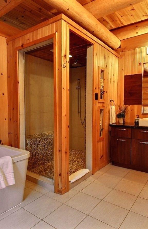 Carcajou - Salle de bain - Chalet Carcajou