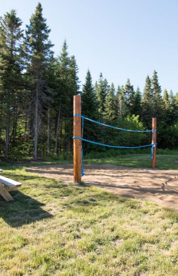 Carcajou - Terrain de volleyball privé - Chalet Carcajou