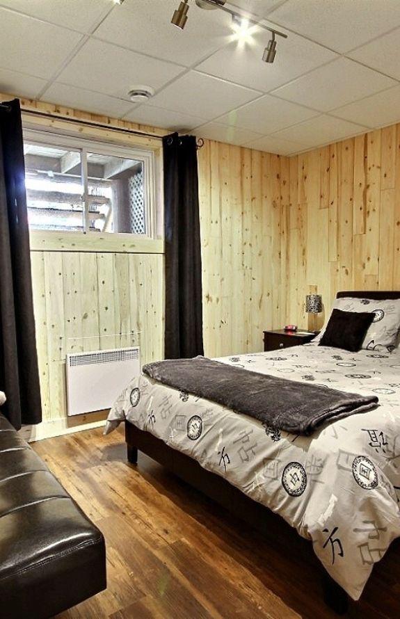 Aigle Royal - Chambre avec lit Queen - Chalet Aigle Royal