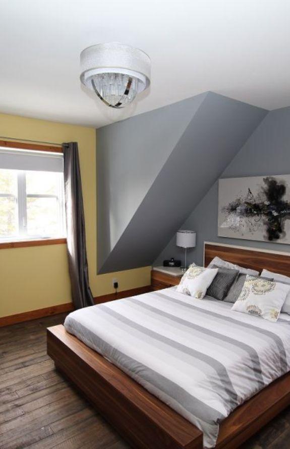 Chalet Movendo - Grand lit, chambre des maitres premier niveau