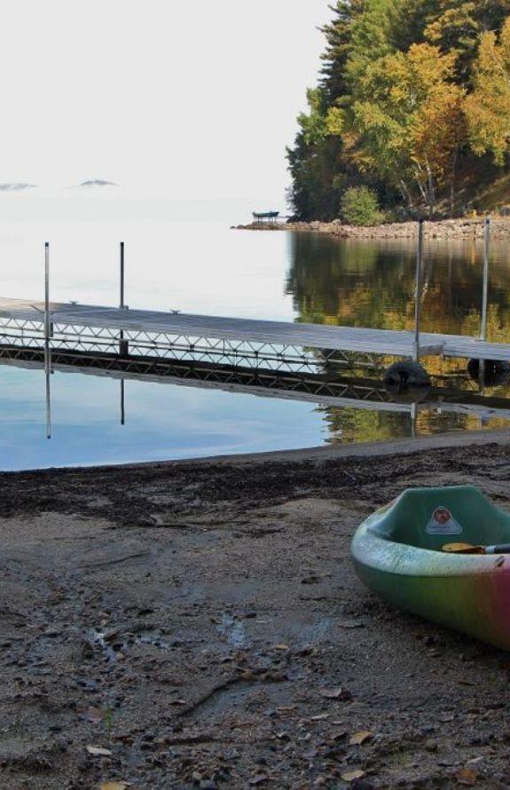 Chalet Movendo - Lac et plage en automne