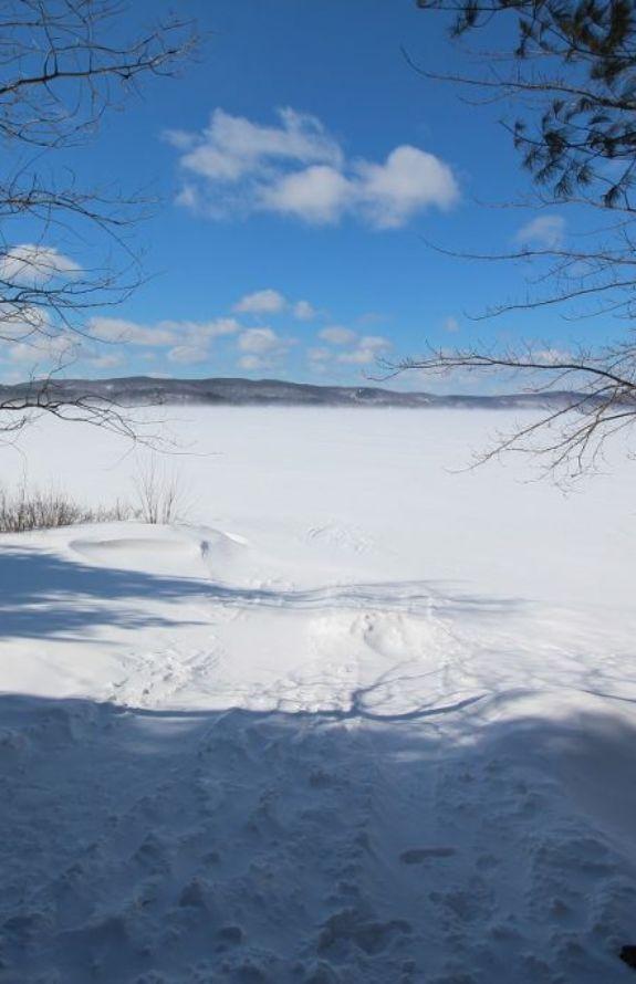 Chalet Movendo - Lac Simon en hiver