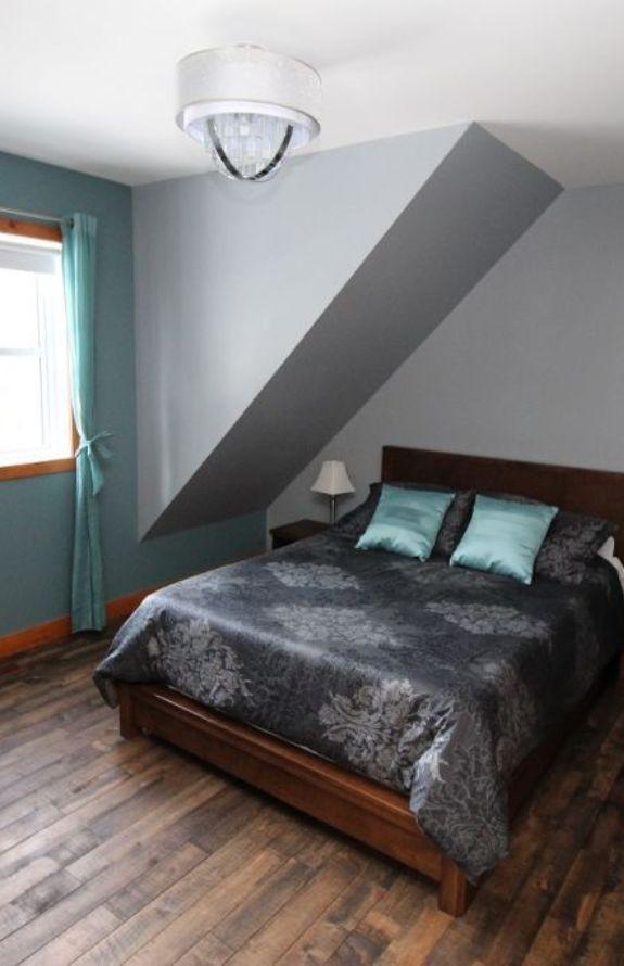 Chalet Movendo - Grand lit, chambre au premier niveau
