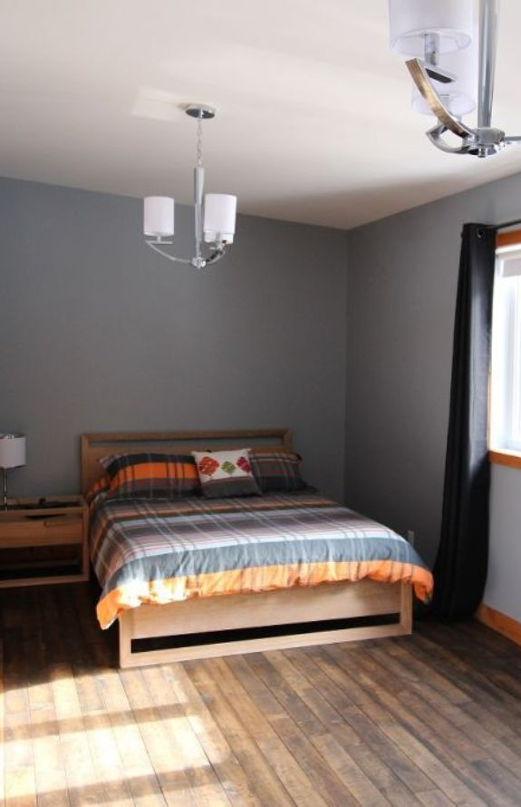 Chalet Movendo - Grand lit, grande chambre premier niveau